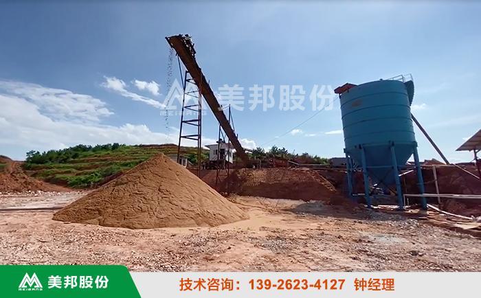 江西砂石场泥浆处理视频