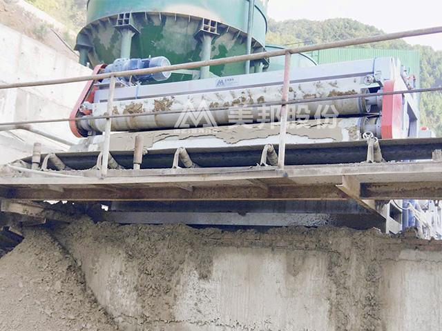 钾长石破碎石粉泥浆环保处理