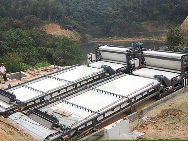 贵州铁矿尾泥污水处理
