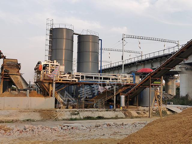 徐闻县洗砂泥浆处理设备
